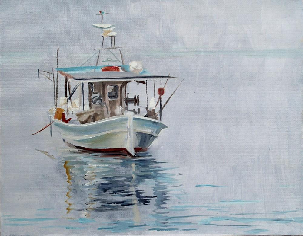 """Calm Waters"" original fine art by Lauren Kuhn"