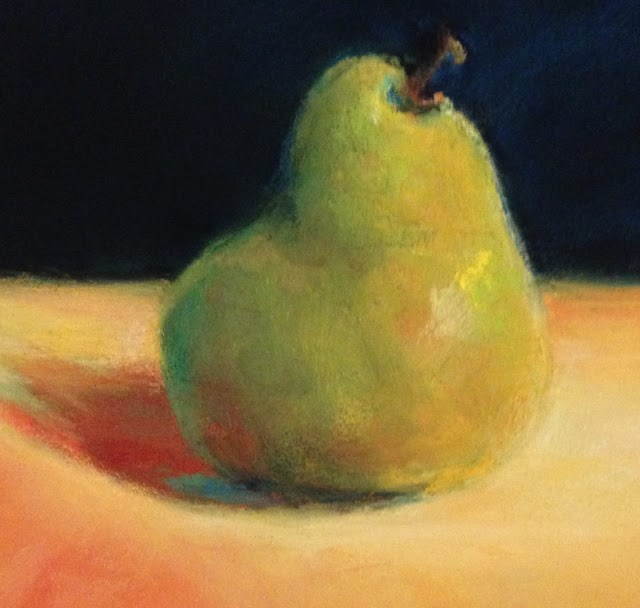 """Pear-fect!"" original fine art by Cindy Gillett"