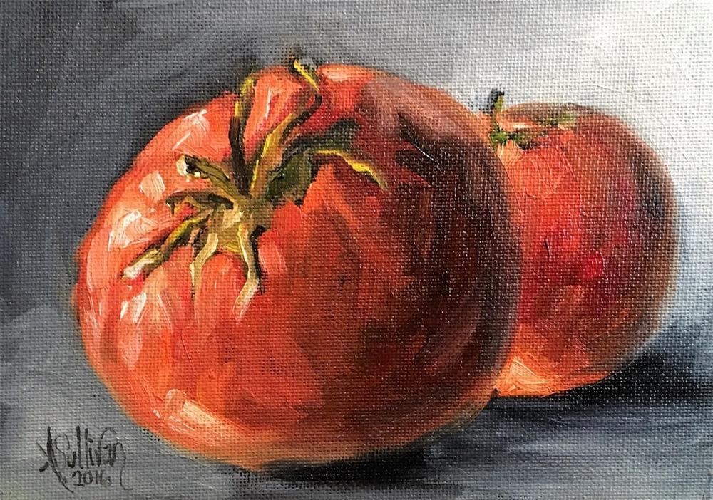 """Garden Beauties still life painting by Alabama Artist Angela Sullivan"" original fine art by Angela Sullivan"