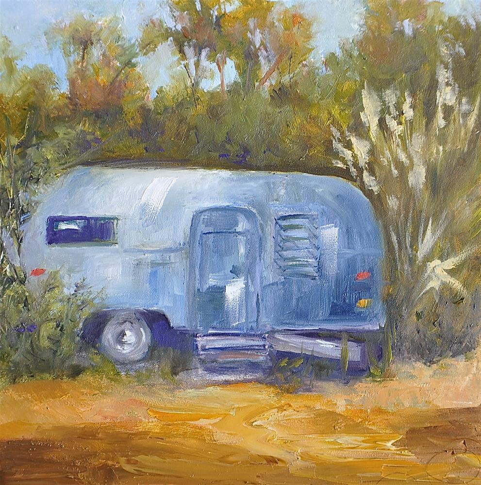 """Gone But Not Forgotten"" original fine art by Jacquelyn Blue"