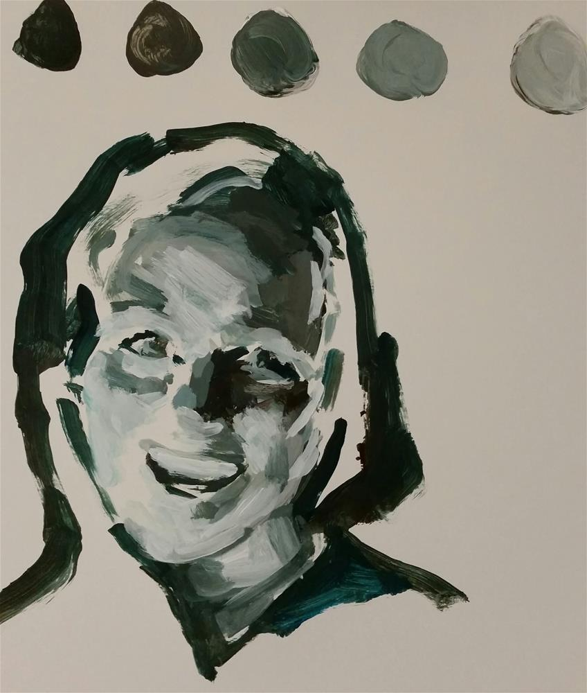 """Monochrome Challenge"" original fine art by Liz Maynes"