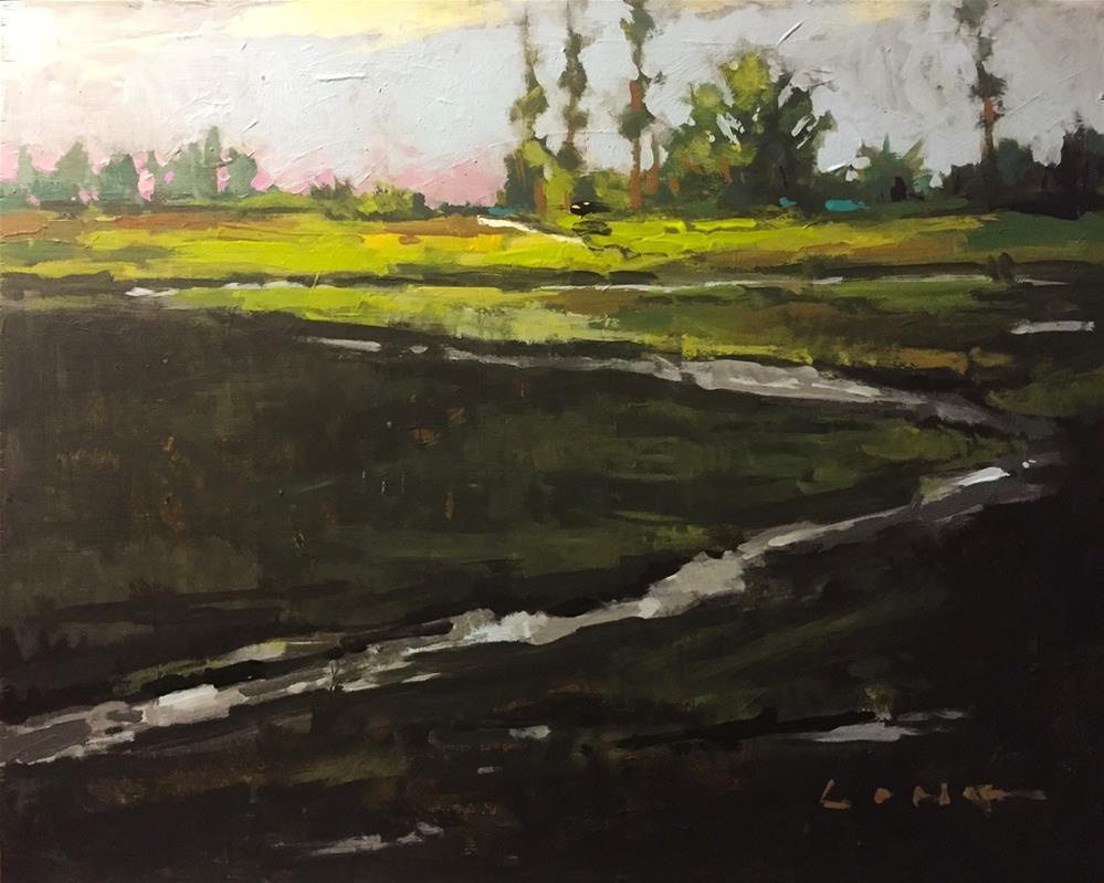 """""""Bayou Shadows"""" original fine art by Chris Long"""