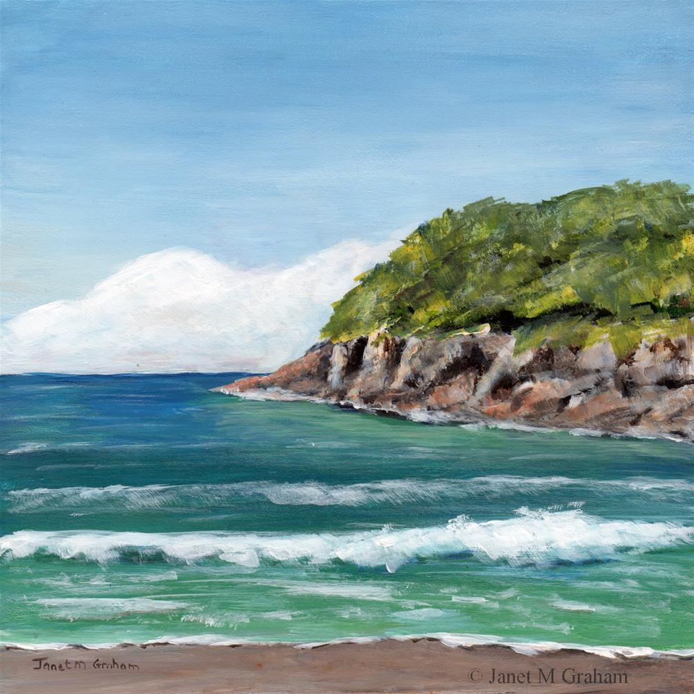 """Sea Bay"" original fine art by Janet Graham"