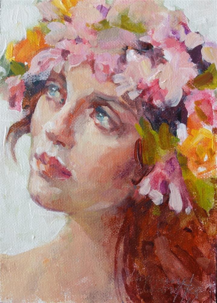 """""""Spring"""" original fine art by Lorraine Lewitzka"""