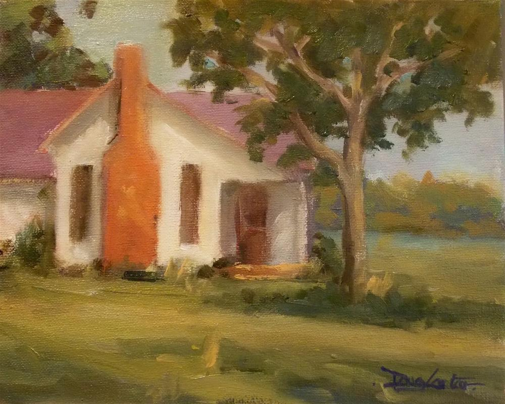 """ HOMESTEAD "" original fine art by Doug Carter"