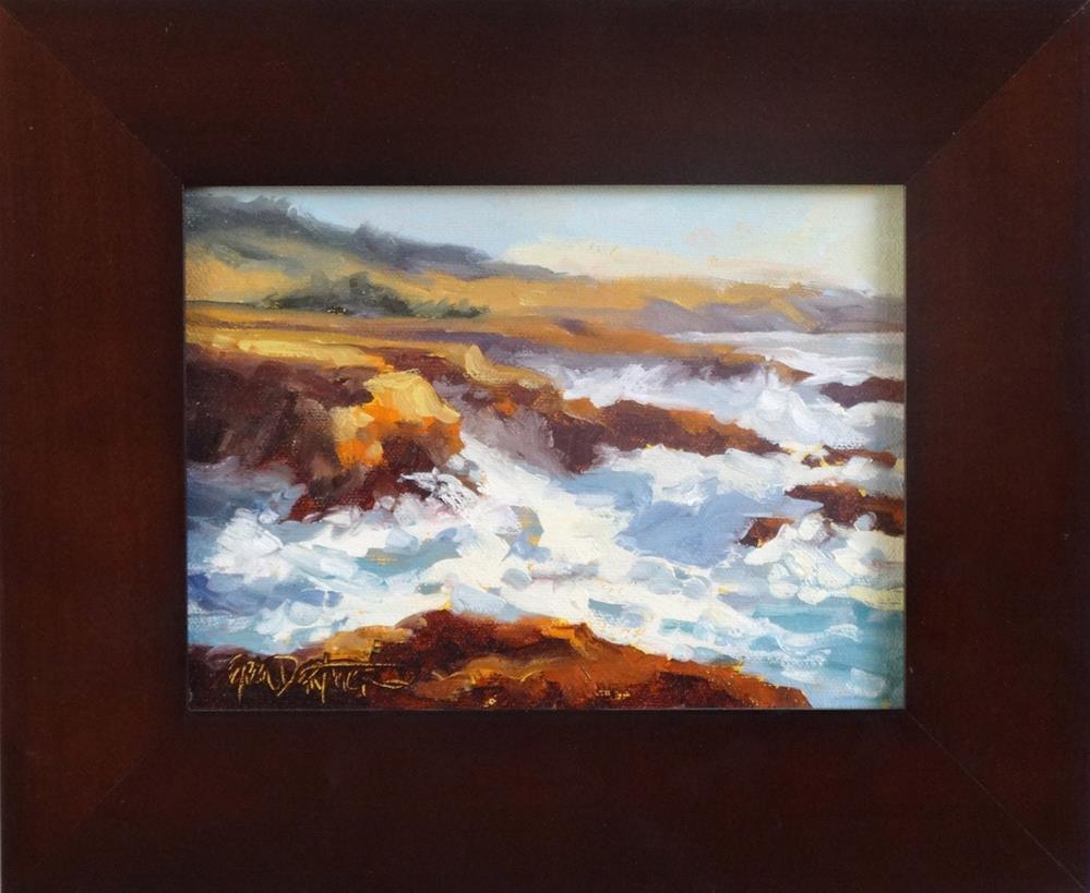 """""""Surf's Up"""" original fine art by Erin Dertner"""