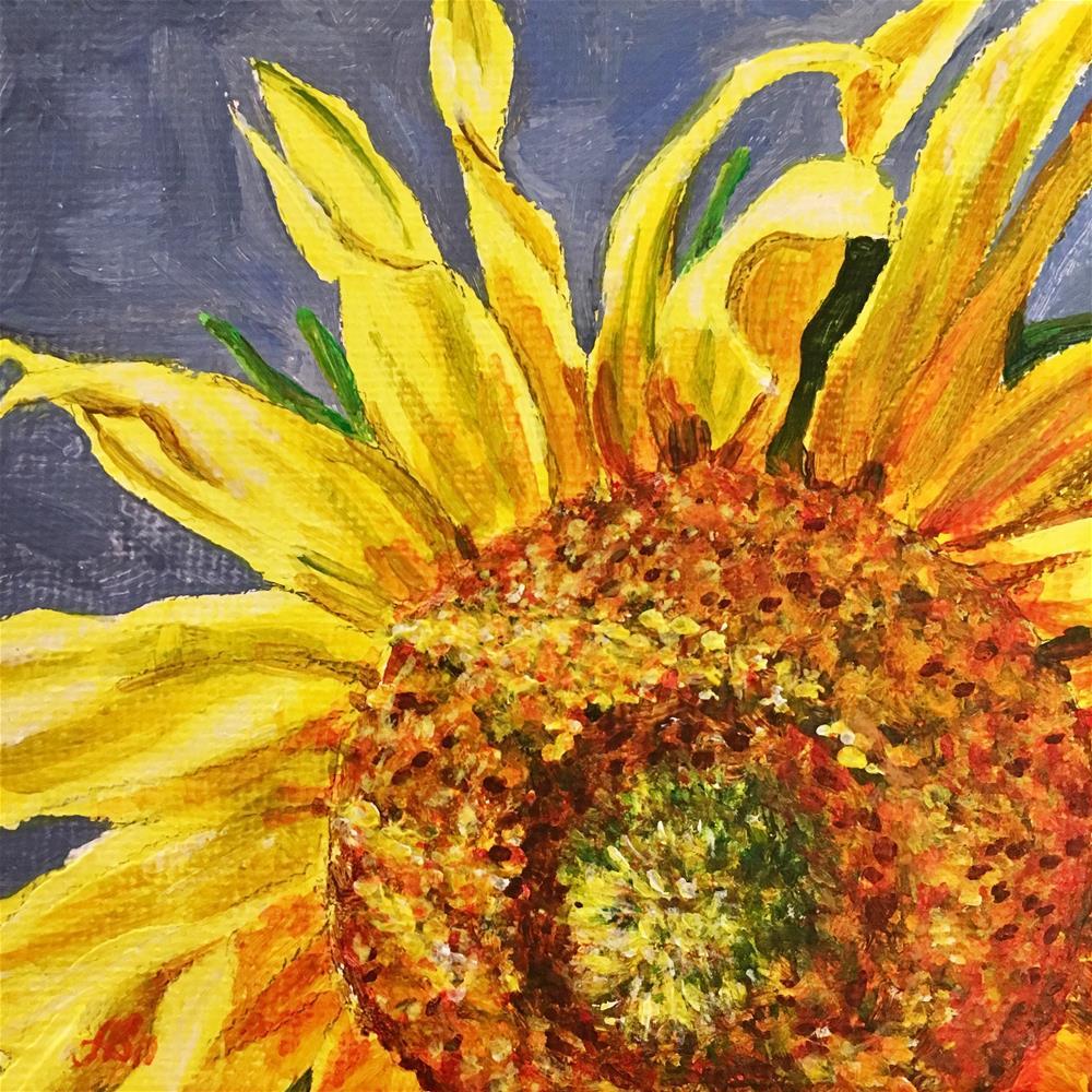 """Sunny side"" original fine art by Anna Starkova"