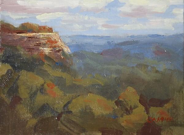 """""""Kentucky Palisades"""" original fine art by Fine Art of René"""