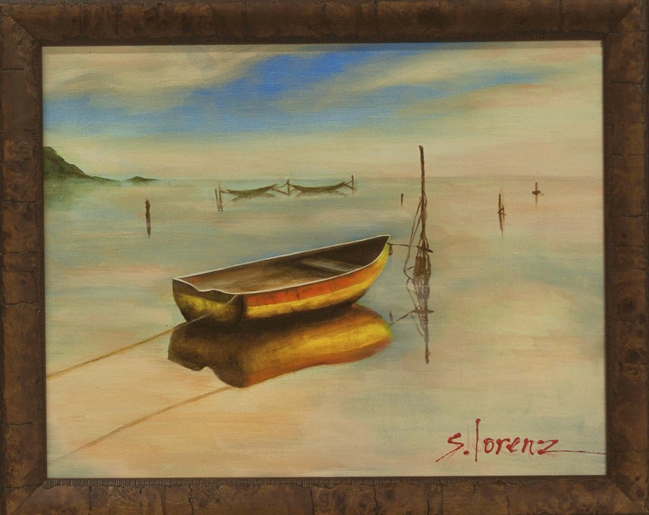 """Still Afloat"" original fine art by Sue Lorenz"