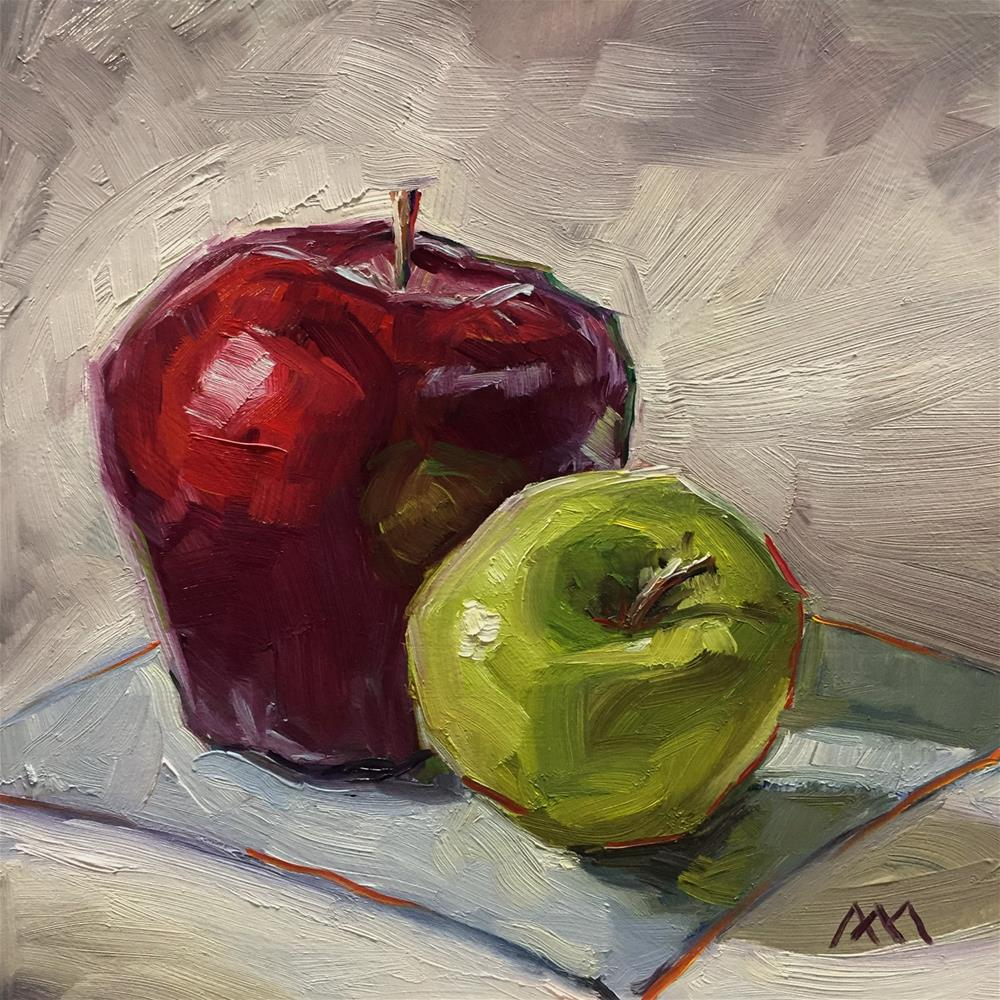 """Apples to Apples"" original fine art by Austin Maloney"