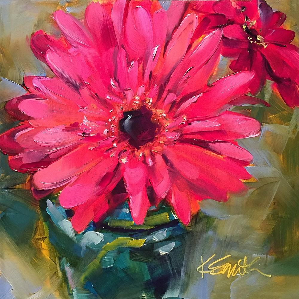 """""""radiant"""" original fine art by Kim Smith"""