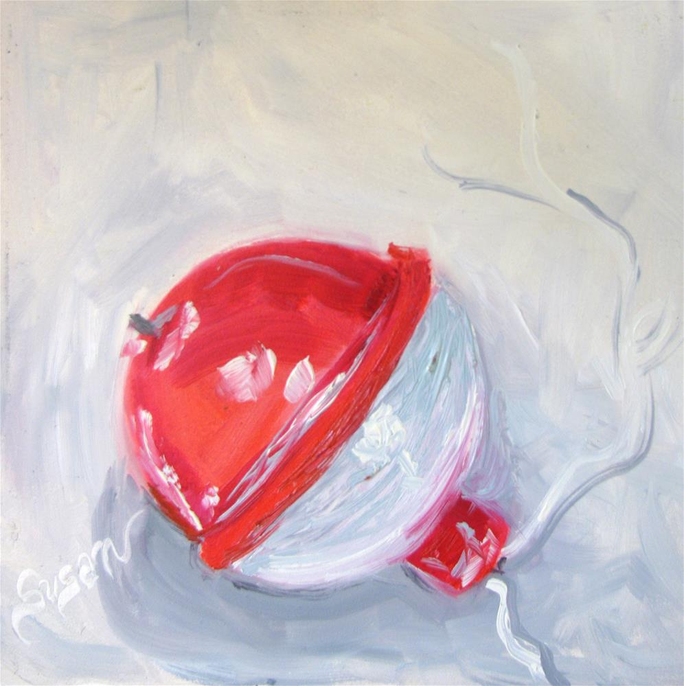 """Bobber"" original fine art by Susan Elizabeth Jones"