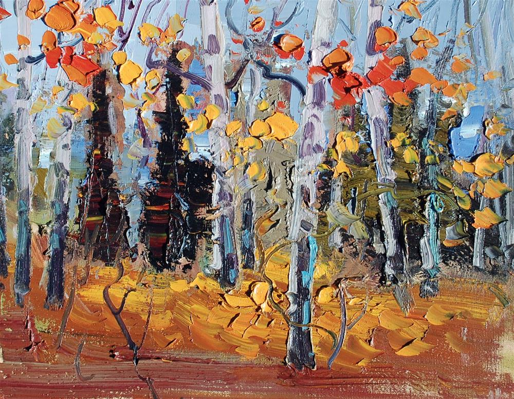 """""""Fall Colors"""" original fine art by Mahin Gholizadeh"""