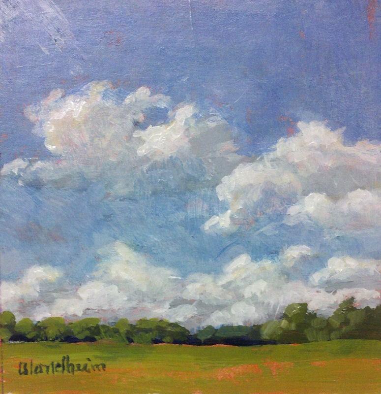 """Summer Sky"" original fine art by Linda Blondheim"