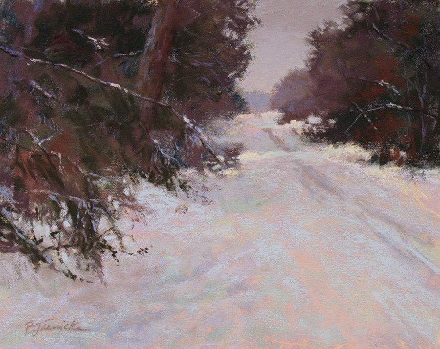 """Heading Somewhere Warm"" original fine art by Barbara Jaenicke"