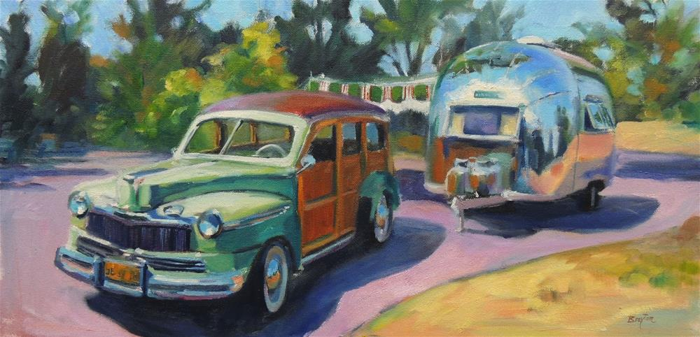"""Let the Good Times Roll"" original fine art by Wendy Brayton"