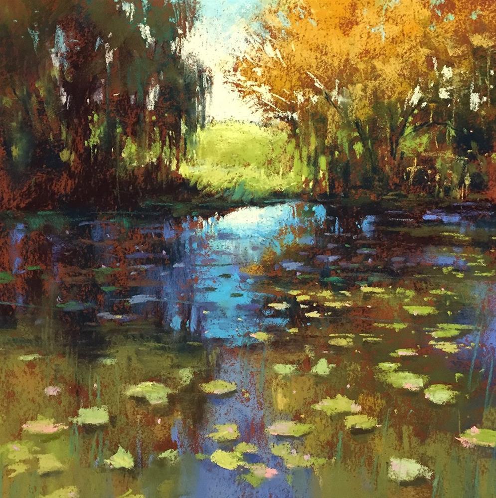 """""""Willows"""" original fine art by Marla Baggetta"""
