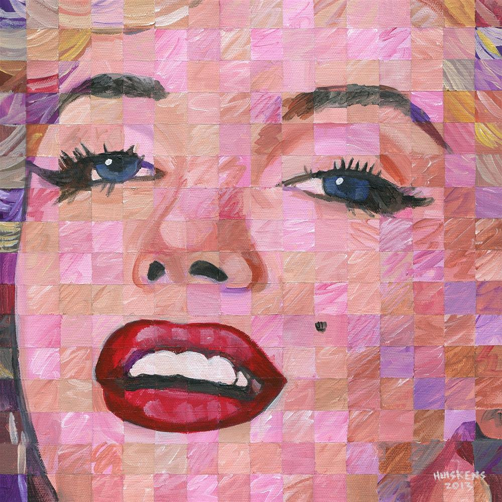 """Marilyn Monroe 2013.12x12.01"" original fine art by Randal Huiskens"