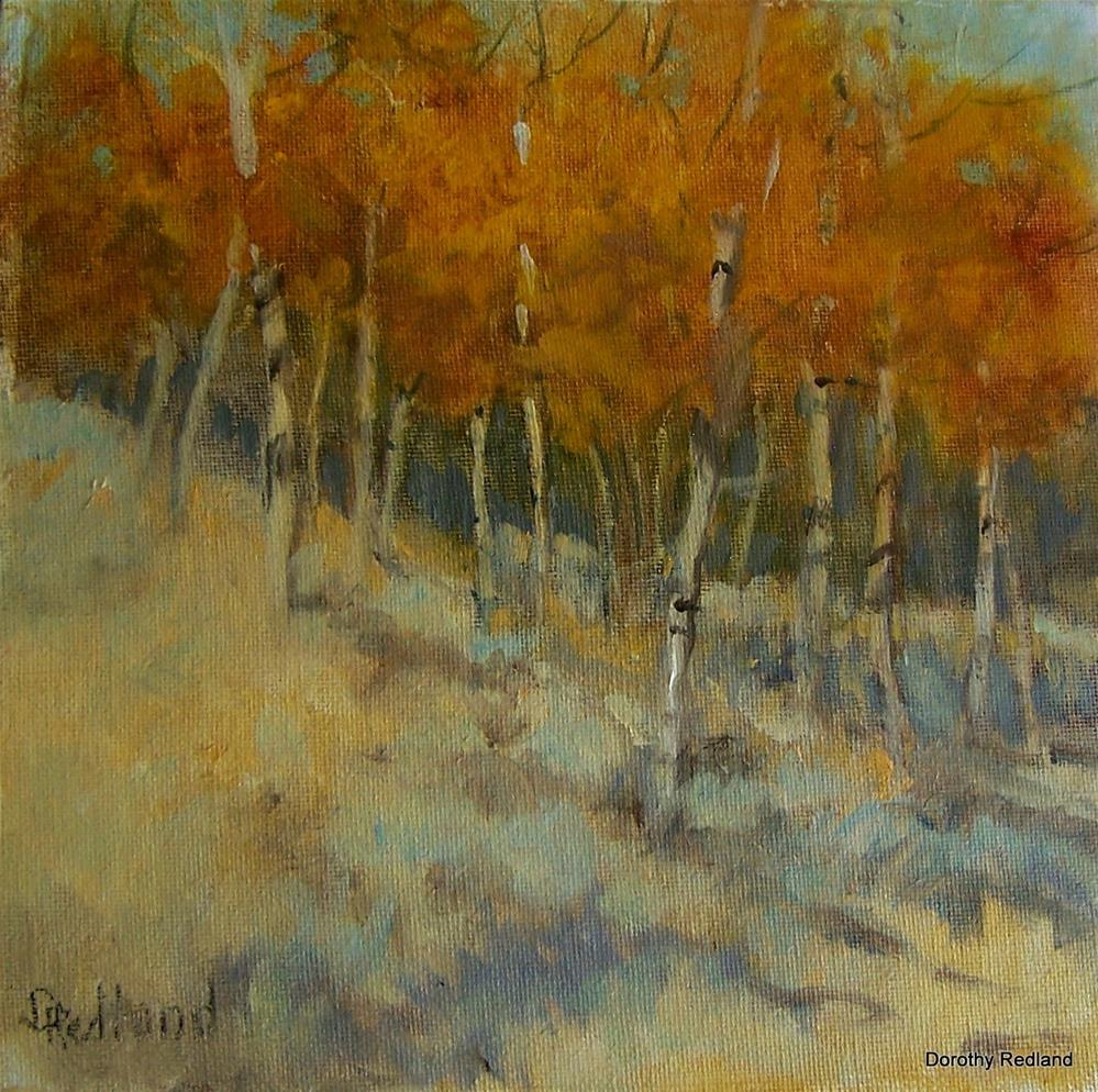 """Spectacular September"" original fine art by Dorothy Redland"