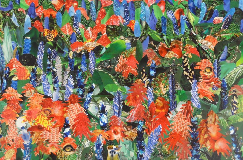 """South Texas Palette"" original fine art by Cynthia Frigon"