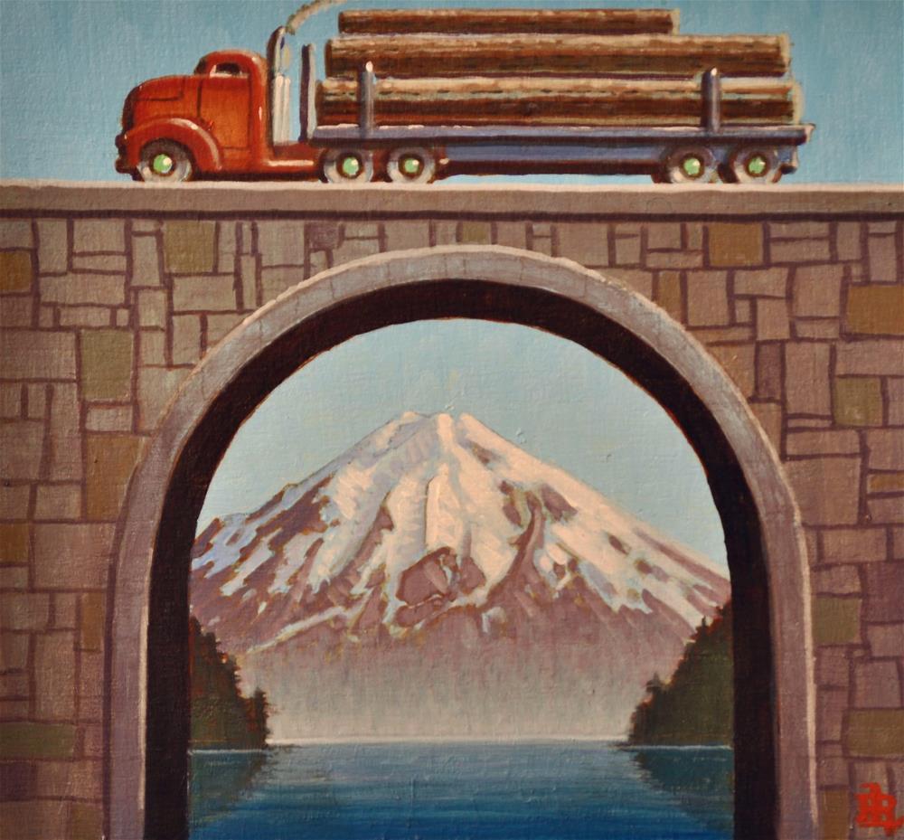 """Timberline"" original fine art by Robert LaDuke"