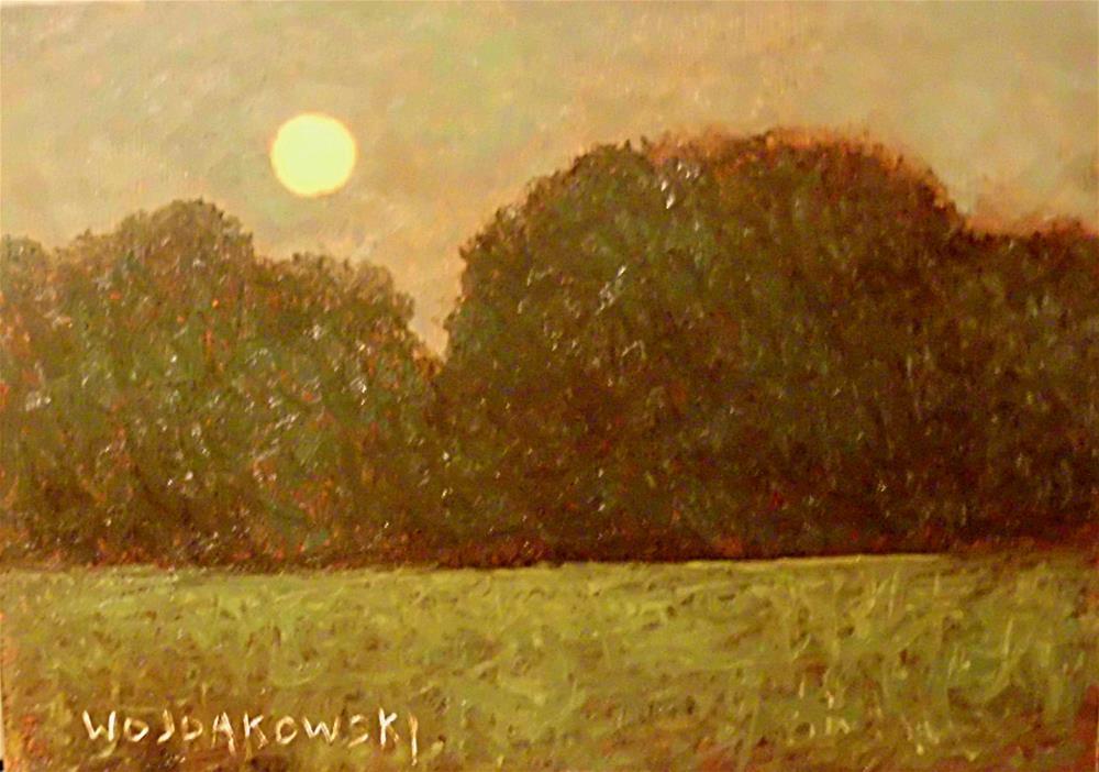 """Moonlight"" original fine art by Joe Wojdakowski"