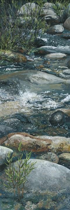 """River Tall"" original fine art by Nadi Spencer"