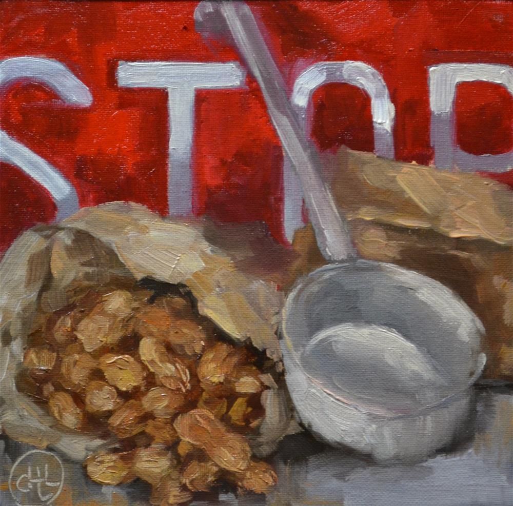 """""""roadside treat"""" original fine art by Dottie  T  Leatherwood"""