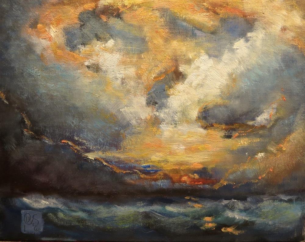 """""""The Morning Passions"""" original fine art by Aurelio Saiz"""