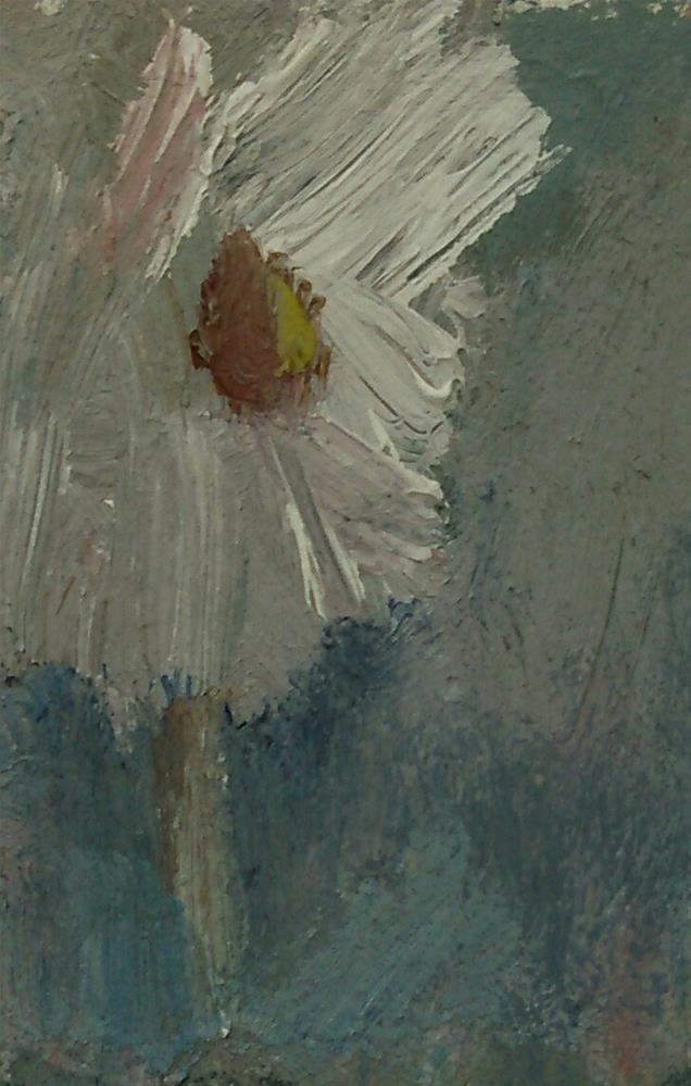 """Tiny Flower"" original fine art by Ann Rudd"