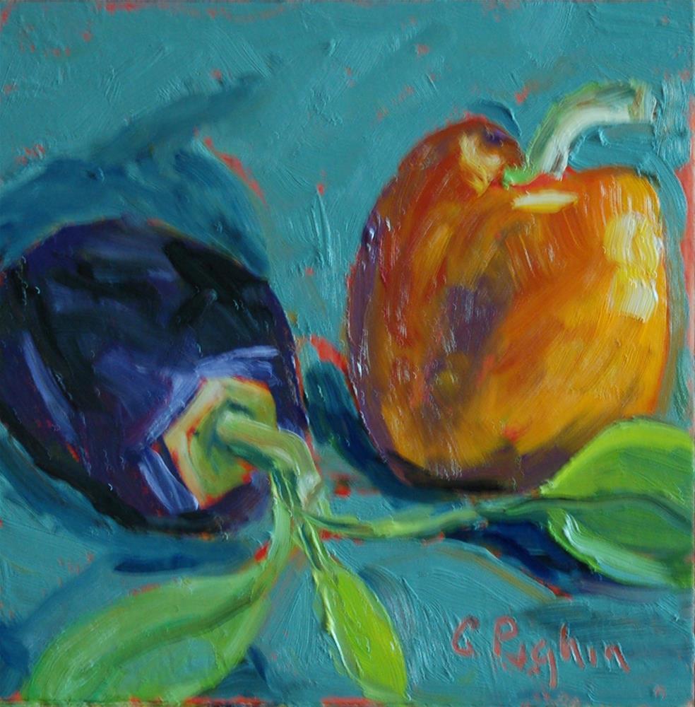 """Garden Fresh"" original fine art by Carol Pighin"