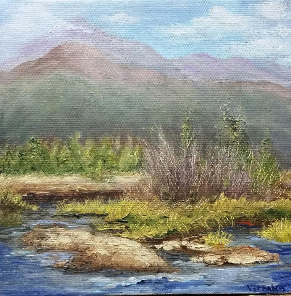 """""""Colorado River"""" original fine art by Veronica Brown"""