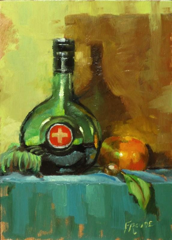 """""""Medicine"""" original fine art by Dave Froude"""