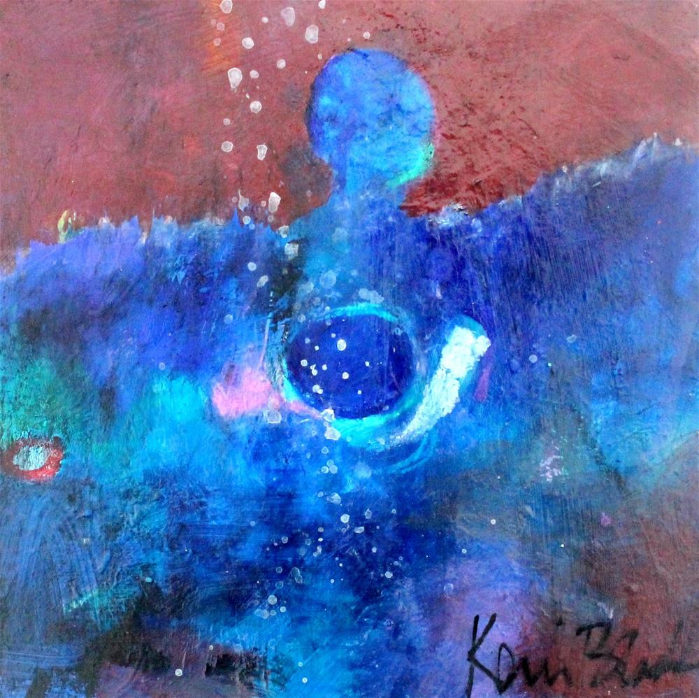 """Bringer of Stars"" original fine art by Kerri Blackman"