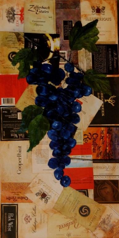 """""""Grapes2"""" original fine art by Mary Datum"""