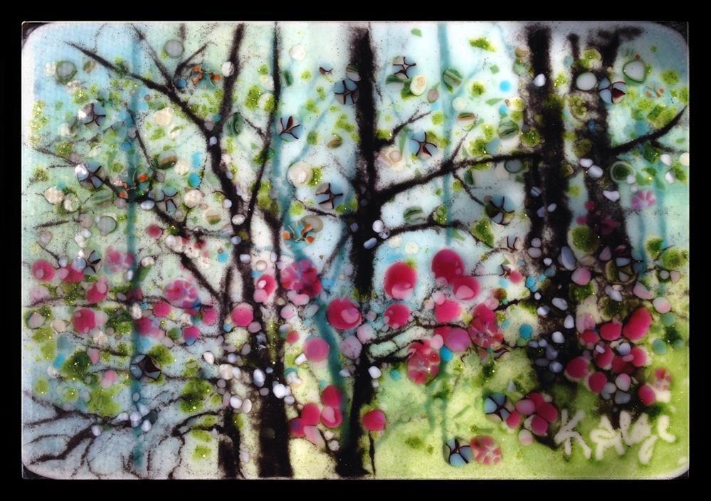 """Spring Woods"" original fine art by Kelly Alge"