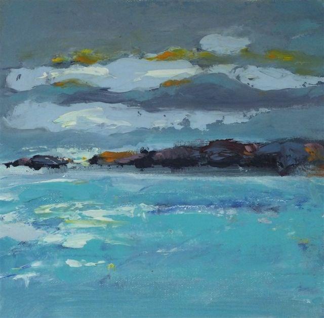 """Landscape 93"" original fine art by Ewa Kunicka"