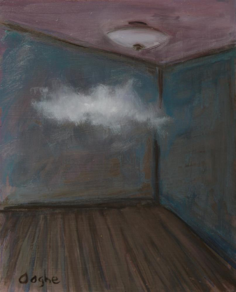"""Partly Cloudy"" original fine art by Angela Ooghe"