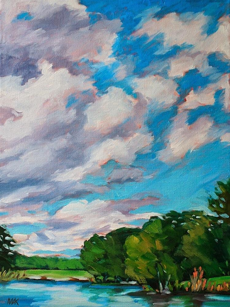 """Big Sky 2"" original fine art by Mary Anne Cary"