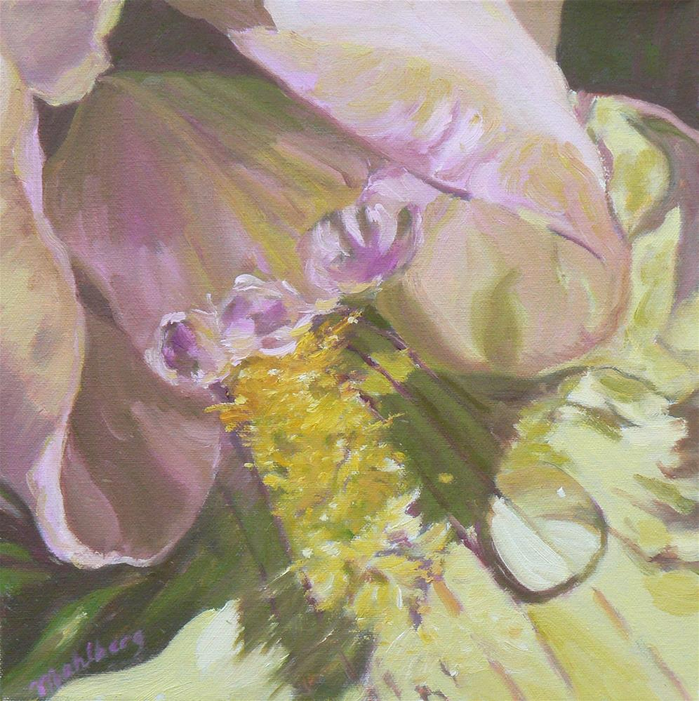 """Iris Three"" original fine art by Cynthia Mahlberg"