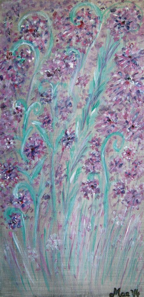 """Field Flowers"" original fine art by Alina Frent"