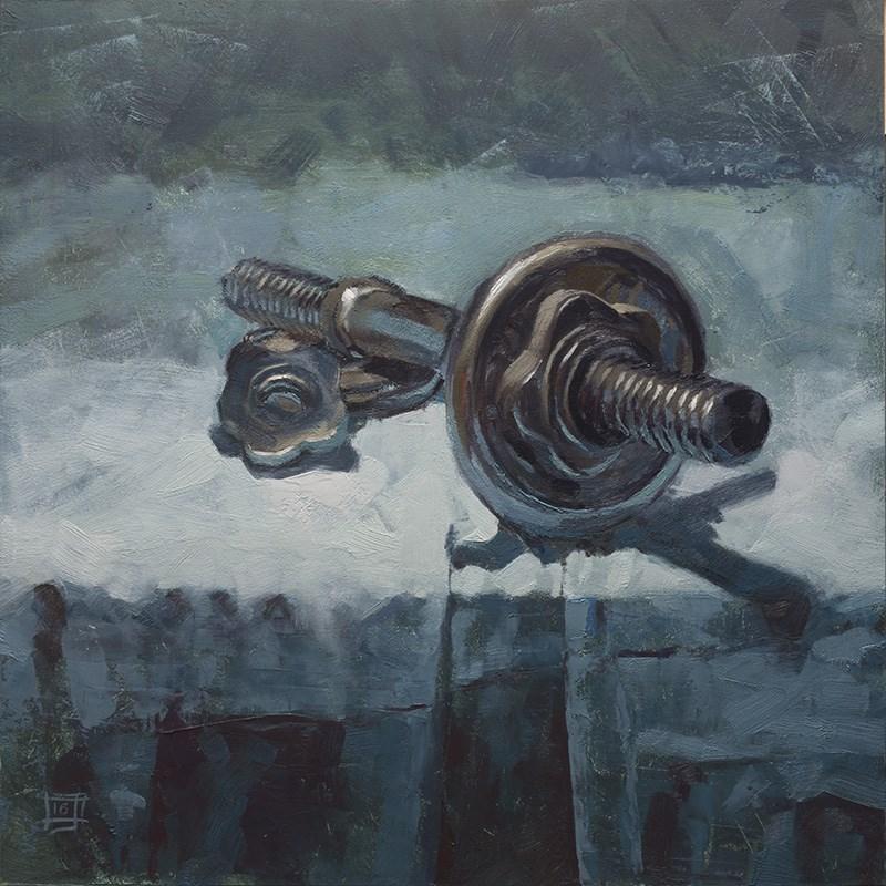 """""""Lightweight"""" original fine art by Johan Derycke"""