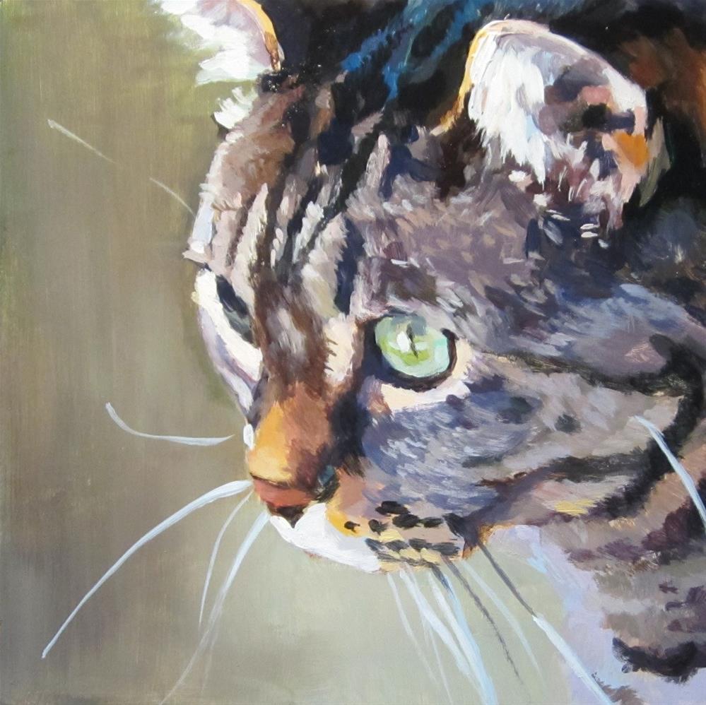 """Focused"" original fine art by Kaethe Bealer"