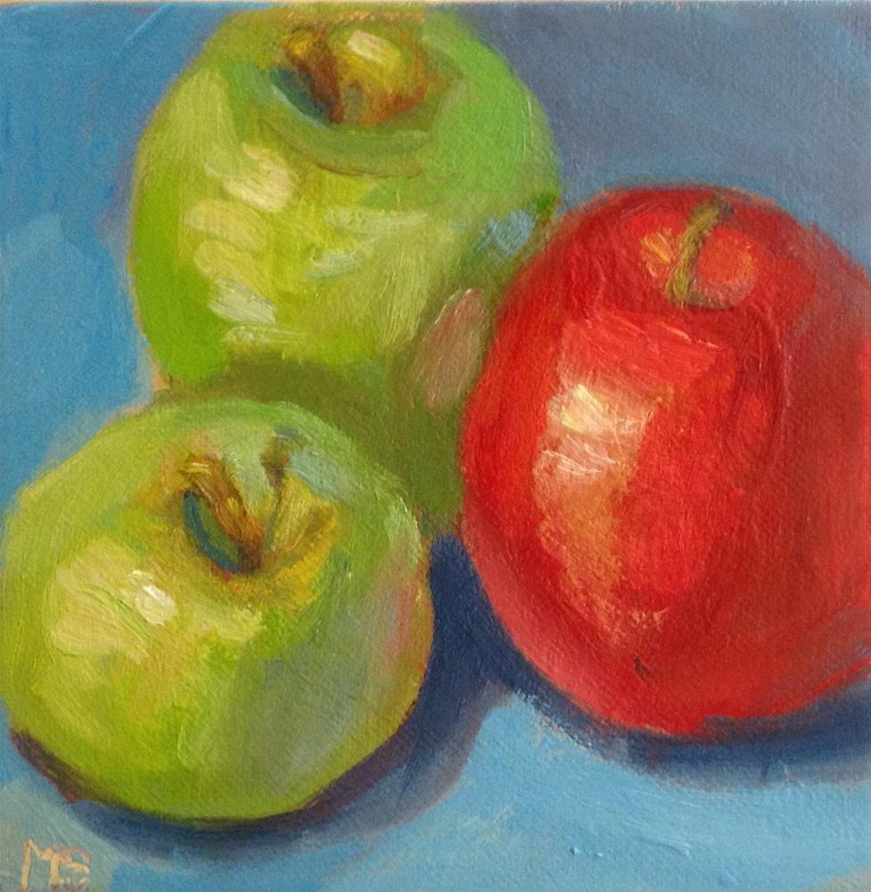 """Outnumbered"" original fine art by Marcia Bergtholdt"