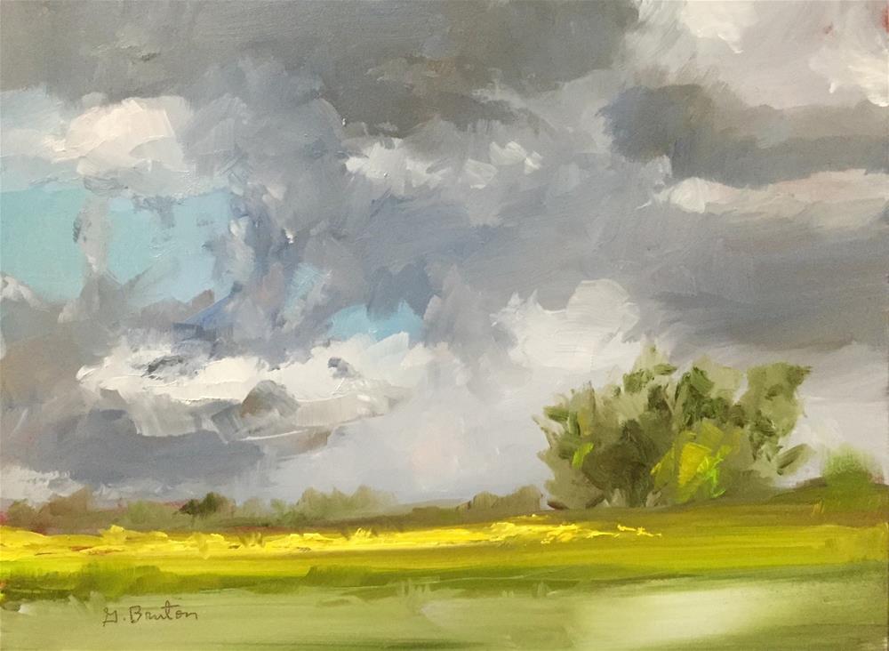 """Unsettled"" original fine art by Gary Bruton"