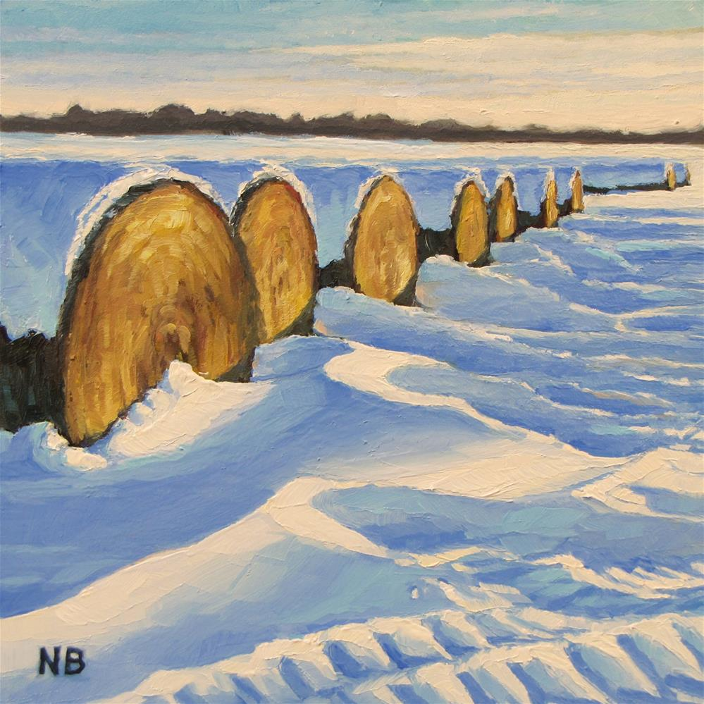 """Frosted Rolls"" original fine art by Nora Bergman"