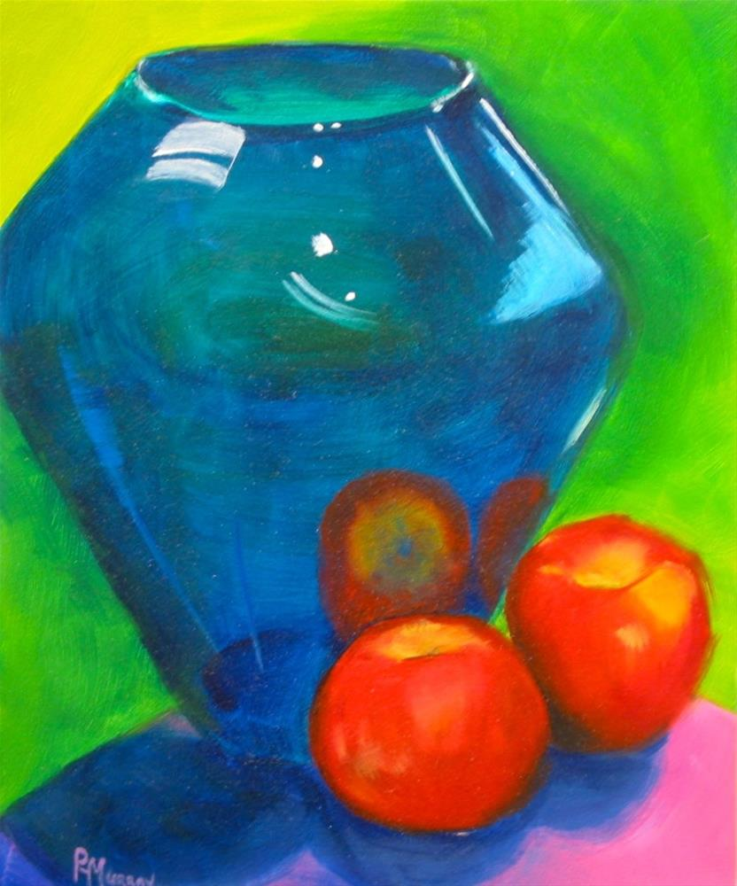 """Reflected Fruit"" original fine art by Patricia Murray"