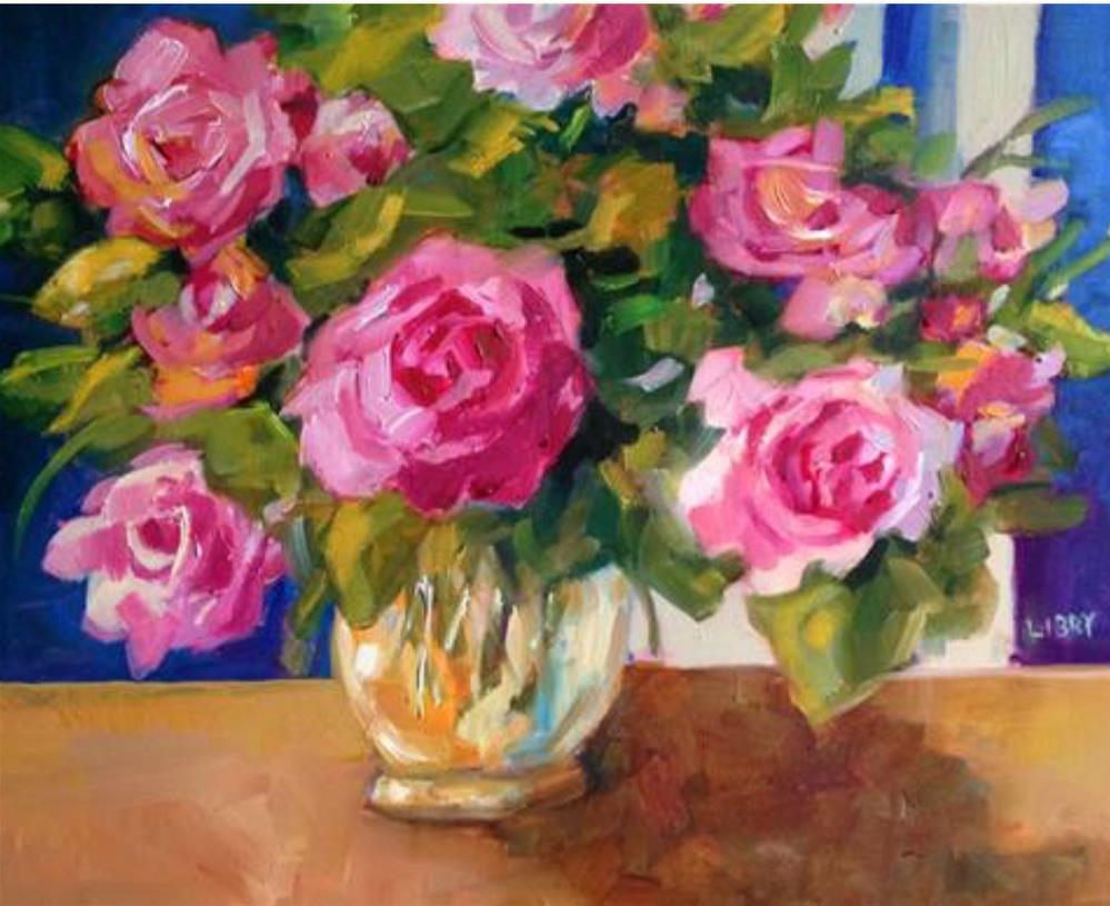 """Mother's Rose"" original fine art by Libby Anderson"