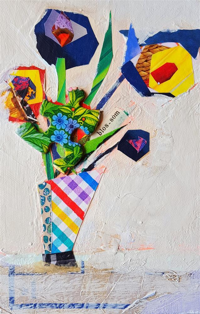 """Blossom"" original fine art by Cindy Carrillo"