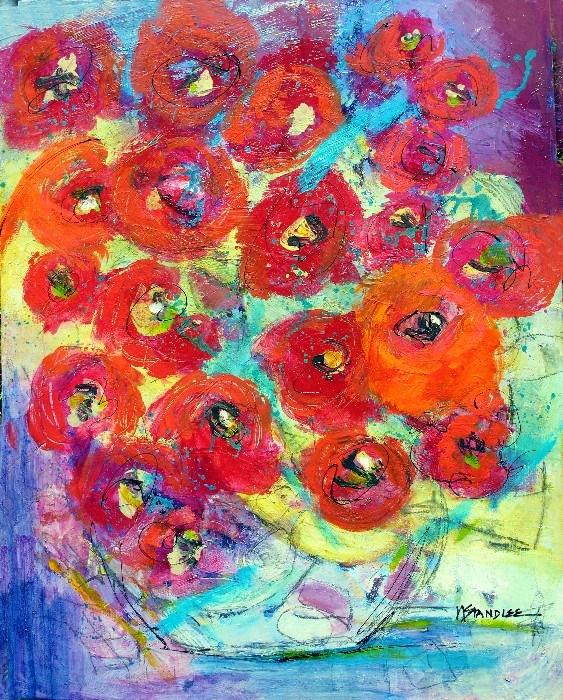 """Heartache Cure 13048 SOLD"" original fine art by Nancy Standlee"